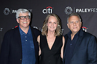 """LOS ANGELES - SEP 7:  Peter Tolan, Helen Hunt, Paul Reiser at the PaleyFest Fall TV Preview - """"Mad About You"""" at the Paley Center for Media on September 7, 2019 in Beverly Hills, CA"""