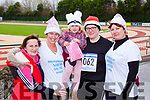 Ann Murphy, Claire Fitzgerald, Cyanna Murphy Castleisland, Mags Somers Currow and Katie Murphy Knocknagoshel  at the Run Rudolph Run in Castleisland on Sunday
