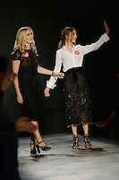 www.acepixs.com<br /> February 17, 2017 New York City<br /> <br /> Keren Craig and Georgina Chapman on runway at Marchesa Fashion Show NYFW on February 17, 2017 in New York City.<br /> <br /> Credit: Kristin Callahan/ACE Pictures<br /> <br /> Tel: 646 769 0430<br /> e-mail: info@acepixs.com