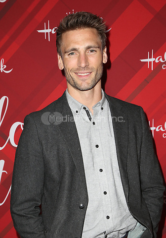 LOS ANGELES, CA - DECEMBER 4: Andrew Walker, at Screening Of Hallmark Channel's 'Christmas At Holly Lodge' at The Grove in Los Angeles, California on December 4, 2017. Credit: Faye Sadou/MediaPunch