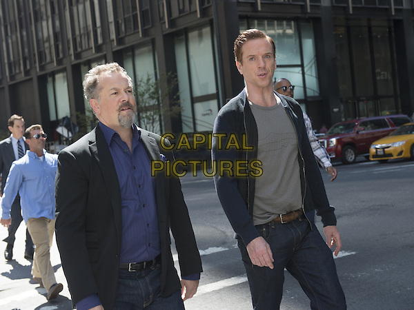 Billions  (2016-)<br /> (Season 1)<br /> David Costabile as Mike &quot;Wags&quot; Wagner and Damian Lewis as Bobby &quot;Axe&quot; Axelrod<br /> *Filmstill - Editorial Use Only*<br /> CAP/FB<br /> Image supplied by Capital Pictures