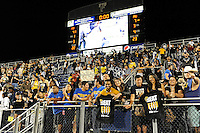 12 November 2011:  FIU fans celebrate after the FIU Golden Panthers defeated the Florida Atlantic University Owls, 41-7, to win the annual Shula Bowl game, at FIU Stadium in Miami, Florida.