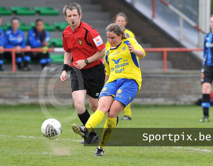 Club Brugge Dames - STVV Sint Truidense VV : Marlies Verbruggen.foto DAVID CATRY / Nikonpro.be