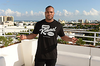 MIAMI BEACH, FL - OCTOBER 05: DJ MLK poses for a portrait during the Empire Records DJ party held at Skydeck on October 5, 2018 in Miami Beach, Florida. <br /> CAP/MPI04<br /> &copy;MPI04/Capital Pictures