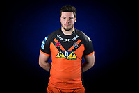 Picture by Allan McKenzie/SWpix.com - 09/01/18 - Rugby League - Super League - Castleford Media Day 2018 - A1 Football Factory, Castleford, England - Callum Bustin.