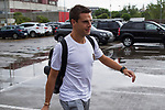 Spainsh Cesar Azpilicueta arriving at the concentration of the spanish national football team in the city of football of Las Rozas in Madrid, Spain. August 28, 2017. (ALTERPHOTOS/Rodrigo Jimenez)