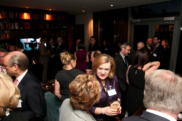 NEW YORK - APRIL 8: Alumni and guests from Edinburgh Napier University gather for a celebration at Eventi Hotel April 8, 2011 in New York City. (Photo by Donald Bowers)