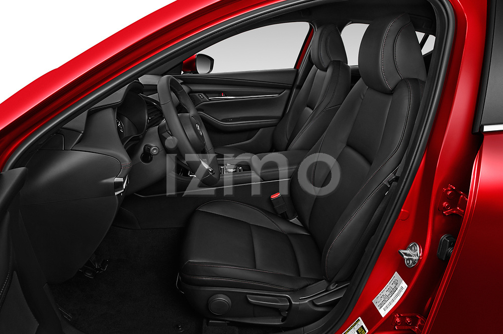 Front seat view of 2019 Mazda Mazda-3 - 5 Door Hatchback Front Seat  car photos