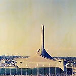 Yoyogi 2nd Gymnagium,<br /> OCTOBER 1964 - Ambiance shot : A general view of the Yoyogi 2nd Gymnagium venue for the Basketball event of the 1964 Tokyo Olympic Games in Tokyo, Japan.<br /> (Photo by Shinichi Yamada/AFLO) [0348]