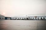 PHNOM PHEN, CAMBODIA, APRIL 2013:<br />La sala M del complesso di Diamond Island<br />L'alta borghesia khmer festeggia al Diamond Island Convention &amp; Exhibition Center, nuovo complesso creato su Koh Pich (Diamond Island), isola fluviale nel centro di Phnom Penh che nel sogno degli azionisti della Canadia Bank (tra cui, si mormora, la famiglia di Hun Sen, primo ministro in carica dal 1985) dovrebbe divenire una micro Singapore. Le dieci sale di Diamond Island possono accogliere un totale di 2000 persone, ma le tariffe sono molto pi&ugrave; alte: il minimo &egrave; di 250 dollari per un tavolo da dieci (cena compresa), la media di circa 400. &copy; Giulio Di Sturco per &quot;D&quot; della Repubblica