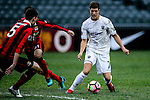Auckland City Midfielder Reid Drake (r) in action during the 2017 Lunar New Year Cup match between Auckland City FC (NZL) vs FC Seoul (KOR) on January 28, 2017 in Hong Kong, Hong Kong. Photo by Marcio Rodrigo Machado/Power Sport Images
