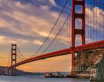 Sunrise, Golden Gate Bridge, San Francisco, California