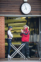 Caversham, Nr Reading, Berkshire. left, Katherine GRAINGER and Paul THOMPSON<br /> GBRowing Media Day.<br /> <br /> Wednesday 11.05.2016<br /> <br /> [Mandatory Credit: Peter SPURRIER/Intersport Images]