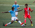 Manchester City vs HKFA U-23 during the Day 3 of the HKFC Citibank Soccer Sevens 2014 on May 25, 2014 at the Hong Kong Football Club in Hong Kong, China. Photo by Victor Fraile / Power Sport Images