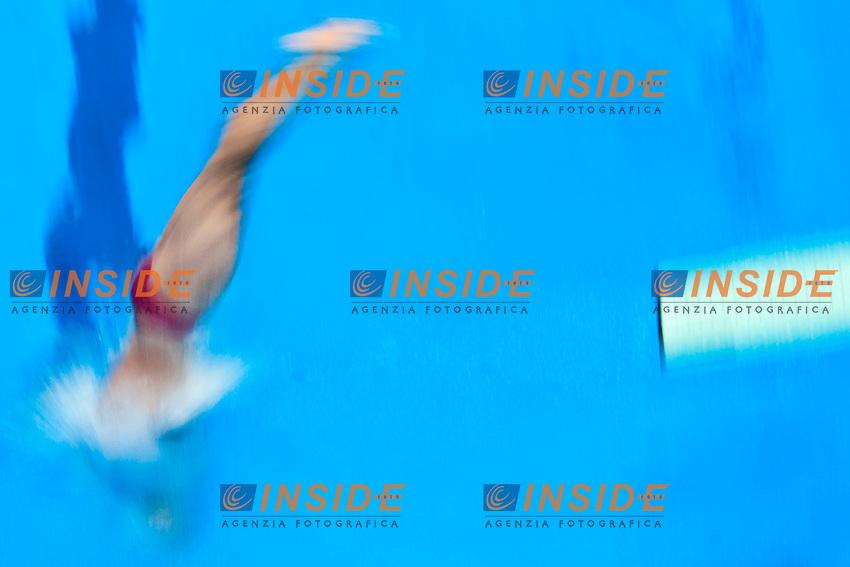 Illya KVASHA UKR Ukraine <br /> 1m Springboard Men<br /> London, Queen Elizabeth II Olympic Park Pool <br /> LEN 2016 European Aquatics Elite Championships <br /> Diving  <br /> Day 02 10-05-2016<br /> Photo Andrea Staccioli/Deepbluemedia/Insidefoto
