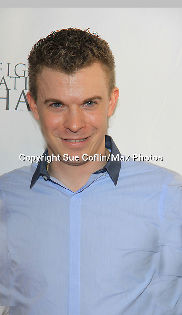 American retired figure skater Timothy Goebel - 2002 Olympic bronze medalist - The 2013 Skating with the Stars- a benefit gala for Figure Skating in Harlem on April 8, 2013 at Trump Wollman Rink, New York City, New York. (Photo by Sue Coflin/Max Photos)