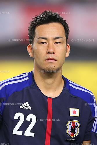 Maya Yoshida (JPN), AUGUST 14, 2013 - Football / Soccer : <br /> KIRIN Challenge Cup 2013 match <br /> between Japan 2-4 Uruguay <br /> at Miyagi Stadium, Miyagi, Japan.<br />  (Photo by AFLO SPORT)