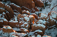Arches National Park, Utah.  Dec 27, 2013