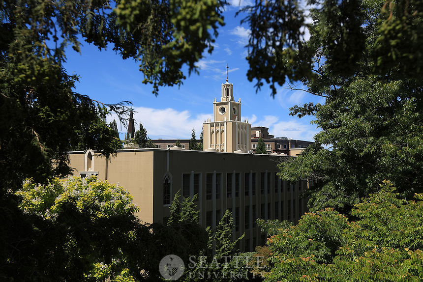 June 27th, 2016- The Administration building at Seattle University.