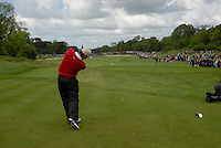 Padraig Harrington tees off on the 8th hole during the final round of the Irish Open on 20th of May 2007 at the Adare Manor Hotel & Golf Resort, Co. Limerick, Ireland. (Photo by Eoin Clarke/NEWSFILE)...