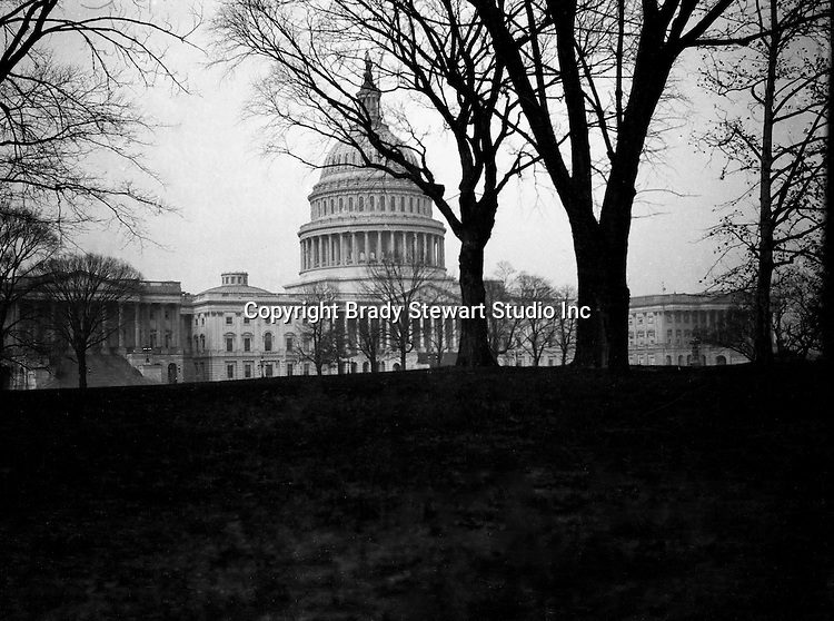 Washington DC:  A view of the East side of the United States Capital Building -  1912. Brady and Sarah Stewart sightseeing in Washington DC while on their honeymoon.