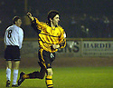 25/03/2003                   Copright Pic : James Stewart.File Name : stewart-alloa v ayr 03.IAN LITTLE CELEBRATES AFTER SCORING ALLOA'S FIRST...James Stewart Photo Agency, 19 Carronlea Drive, Falkirk. FK2 8DN      Vat Reg No. 607 6932 25.Office     : +44 (0)1324 570906     .Mobile  : +44 (0)7721 416997.Fax         :  +44 (0)1324 570906.E-mail  :  jim@jspa.co.uk.If you require further information then contact Jim Stewart on any of the numbers above.........