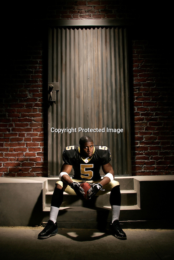 Reggie Bush, New Orleans Saints.Photo by Chris Covatta