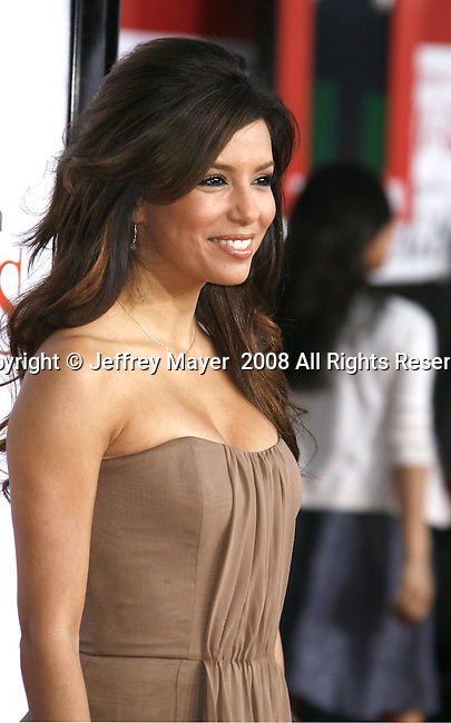 """Actress Eva Longoria Parker arrives at the Premiere Of Fox's """"What Happens In Vegas"""" on May 1, 2008 at the Mann Village Theatre in Los Angeles, California."""