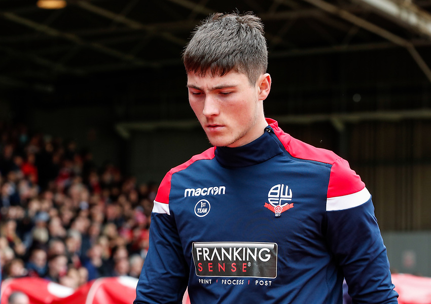 Bolton Wanderers' Jack Earing pictured before the match <br /> <br /> Photographer Andrew Kearns/CameraSport<br /> <br /> The EFL Sky Bet Championship - Nottingham Forest v Bolton Wanderers - Sunday 5th May 2019 - The City Ground - Nottingham<br /> <br /> World Copyright © 2019 CameraSport. All rights reserved. 43 Linden Ave. Countesthorpe. Leicester. England. LE8 5PG - Tel: +44 (0) 116 277 4147 - admin@camerasport.com - www.camerasport.com