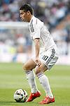 Real Madrid's James Rodriguez during La Liga match. April 29,2015. (ALTERPHOTOS/Acero)