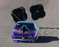 Feb 24, 2017; Chandler, AZ, USA; NHRA top sportsman driver Joe Roubicek during qualifying for the Arizona Nationals at Wild Horse Pass Motorsports Park. Mandatory Credit: Mark J. Rebilas-USA TODAY Sports
