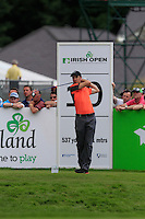 Ross Fisher (ENG) on the 10th tee during Round 2 of the Irish Open at Fota Island on Friday 20th June 2014.<br /> Picture:  Thos Caffrey / www.golffile.ie