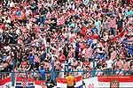 08.06.2019., stadium Gradski vrt, Osijek - UEFA Euro 2020 Qualifying, Group E, Croatia vs. Wales. Fans in the stands.<br /> <br /> Foto © nordphoto / Goran Stanzl/PIXSELL
