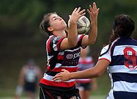 Auckland v Counties Manukau Women on day two of the 2018 Bayleys National Sevens at Rotorua International Stadium in Rotorua, New Zealand on Sunday, 14 January 2018. Photo: Dave Lintott / lintottphoto.co.nz