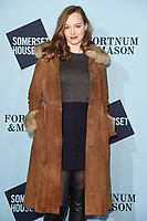 Lou Hayter<br /> arriving for the Skate at Somerset House 2017 opening, London<br /> <br /> <br /> ©Ash Knotek  D3351  14/11/2017