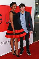 "Sharon Leal, Paul Becker<br /> at ""The Gunman"" Premiere, Regal Cinemas, Los Angeles, CA 03-12-15<br /> David Edwards/DailyCeleb.Com 818-249-4998"