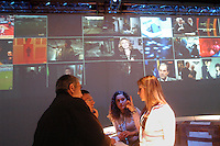 - exhibition of computer science and technological innovation Futurshow, stand of digital broadcasting television Sky TV....- salone dell'informatica e dell'innovazione tecnologica Futurshow,  stand della emittente televisiva digitale via satellite Sky TV ....