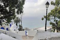 - the ancient downtown of Sidi Bou Said seafaring village....- l'antico centro storico del borgo marinaro di Sidi Bou Said