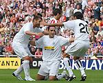 Juventus' Cristian Molinaro celebrates with team mates after scoring...Pre-Season Friendly..Sunderland v Juventus..4th August, 2007..--------------------..Sportimage +44 7980659747..admin@sportimage.co.uk..http://www.sportimage.co.uk/