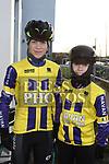 Sean and Darragh Lenehan who took part in the Duleek Parish School cycle. Photo:Colin Bell/pressphotos.ie