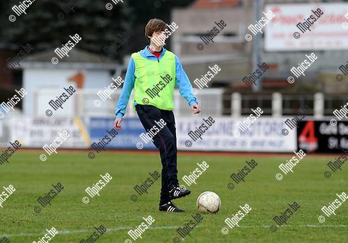 2012-02-26 / Voetbal / seizoen 2011-2012 / KFC Duffel / Stig Van Peer..Foto: Mpics.be