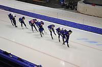 SCHAATSEN: HEERENVEEN: 18-09-2014, IJsstadion Thialf, Topsporttraining, Team Continu, ©foto Martin de Jong