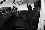 Front seat view of 2017 Chevrolet Suburban LS 5 Door SUV Front Seat  car photos