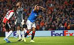 19.09.2019 Rangers v Feyenoord: Alfredo Morelos denied a penalty