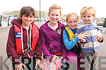 Faye Greely, Sorcha Brosnan, Sarah Folan and little Zak Kennedy (Dingle) enjoying the Dingle Regatta over the weekend.