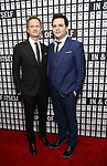 Neil Patrick Harris and Derek DelGaudio attends the Opening Night after party for 'In & Of Itself' at ACE Hotel on April 12, 2017 in New York City.