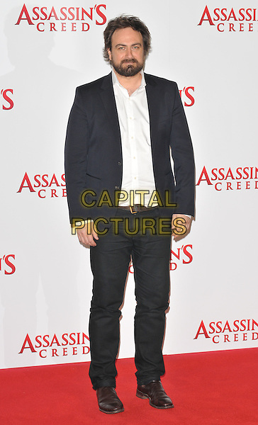 Justin Kurzel at the &quot;Assassin's Creed&quot; film photocall, Claridge's  Hotel, Brook Street, London, England, UK, on Thursday 08 December 2016. <br /> CAP/CAN<br /> &copy;CAN/Capital Pictures