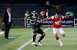 Bogotá- Independiente Santa Fe y Once Caldas empataron sin goles el partido correspondiente a la fecha 15 del Torneo Clausura 2014, desarrollado en el estadio Nemesio Camacho 'El Campín', el 18 de octubre.