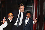 "As The World Turns' Judson Mills stars as ""Frank Farmer"" - the bodyguard with Kevelin B. Jones III (L) and Douglas Baldeo trading off as ""Fletcher"" in the North American Premiere at the opening night of The Bodyguard The Musical at the Paper Mill Playhouse December 4 running until January 1, 2017.  (Photo by Sue Coflin/Max Photos)"