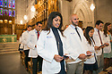 Duke Doctor of Physical Therapy Division Class of 2017 students recite the Hippocratic Oath during their White Coat Ceremony at Duke Chapel.